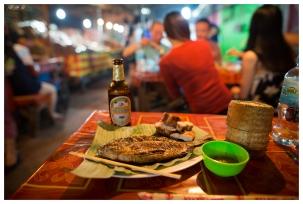 Dinner at the night markets. Laos. 5D Mark III   24mm 1.4 Art