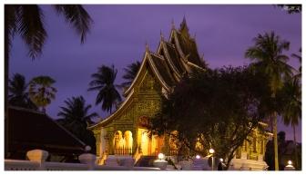 Luang Prabang at dusk, Laos 5D Mark III | 85mm 1.2L II | iso 3200