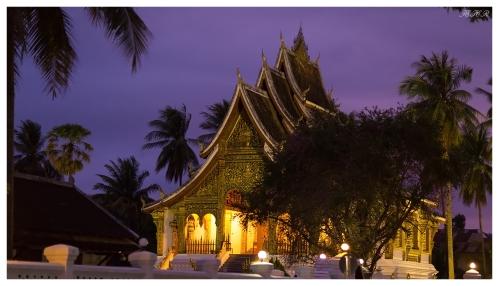 Luang Prabang at dusk, Laos 5D Mark III   85mm 1.2L II   iso 3200