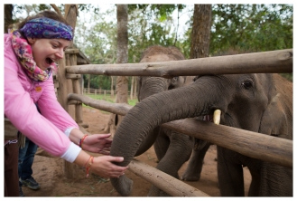 Who doesn't like baby elephants? Laos. 5D Mark III | 24mm 1.4 Art