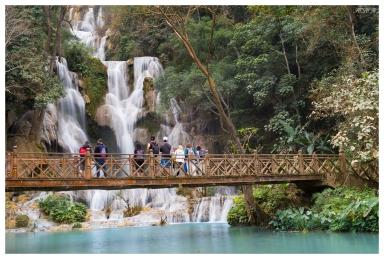 Awesome Kuang Si Falls, Laos. Canon G7X