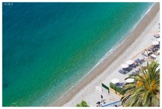 The lovely Med coast. Nice, France. Canon 5D Mark III | 85mm 1.2L II