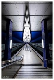 Munich U-Bahn. Canon 5D Mark III with Sigma 12-24mm 4.0 Art