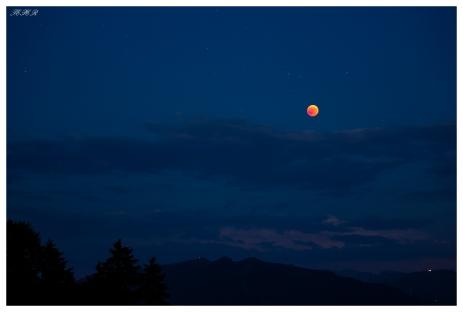 Moon Eclipse 2018. Bavaria, 5D Mark III & 100-400mm 4.5-5.6L IS II