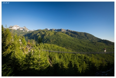 The view from the top of Sea to Sky Gondola. Squamish, Canada. 5D Mark III | Zeiss 18mm 2.8 | Polariser