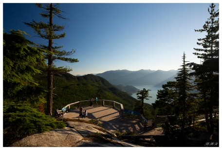 The view from the top of Sea to Sky Gondola. Squamish, Canada. 5D Mark III   Zeiss 18mm 2.8   Polariser