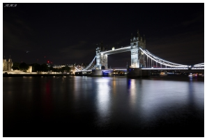 Tower Bridge at night, London. 5D Mark III | 12-24mm 4.0 Art