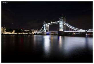 Tower Bridge at night, London. 5D Mark III   12-24mm 4.0 Art