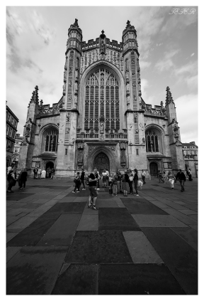 Bath Abbey, Bath, England. 5D Mark III | 12-24mm 4.0 Art