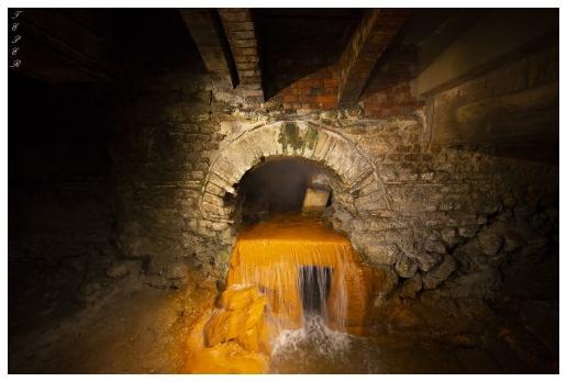 Original Roman plumbing! Roman Baths, England. 5D Mark III | 12-24mm 4.0 Art
