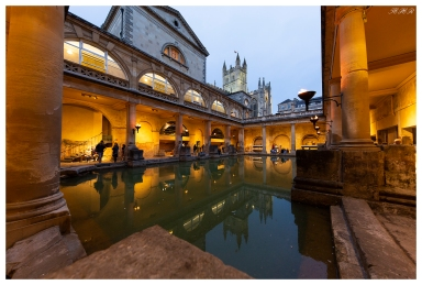 Roman Baths, England. 5D Mark III | 12-24mm 4.0 Art