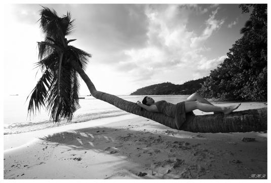 Relaxation, Mahe, Seychelles. 5D Mark III   18mm 2.8 Zeiss Milvus.