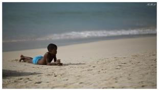 Beau Vallon Beach, Mahe, Seychelles. 5D Mark III | 135mm 2L