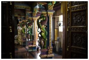 Hindu Temple, Victoria, Mahe, Seychelles. 5D Mark III | 35mm 1.4 Art