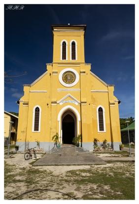 Local church, La Digue, Seychelles. 5D Mark III | 24mm 1.4 Art