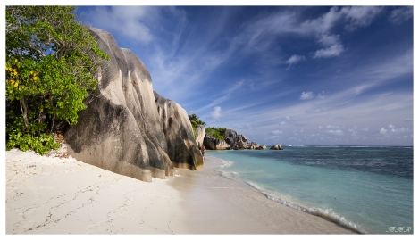 Paradise on La Digue, Seychelles. 5D Mark III | 18mm 2.8 Zeiss Milvus