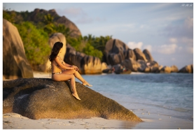 Paradise on La Digue, Seychelles. 5D Mark III | 85mm 1.2L II