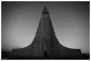 Hallgrímskirkja, Reykjavík. 5D Mark III | Zeiss 18mm 2.8 Milvus