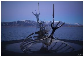 The Sun Voyager, Reykjavík. 5D Mark III   50mm 1.4 Art