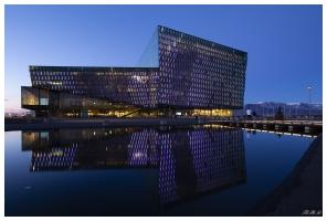 Harpa Concert Hall, Reykjavík. 5D Mark III | 12-24mm f4 Art