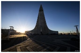 Hallgrímskirkja, Reykjavík. 5D Mark III | 12-24mm f4 Art