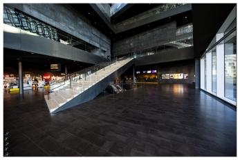 Inside the Harpa Concert Hall, Reykjavík. 5D Mark III   12-24mm f4 Art