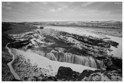 Gullfoss, Iceland. 5D Mark III | 24mm 1.4 Art