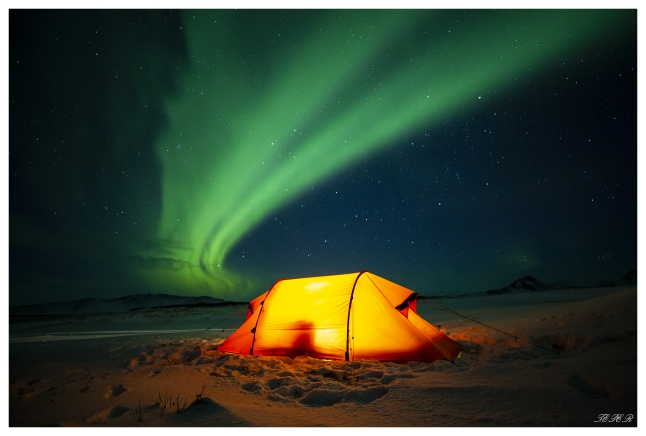 3am, -17 and a beautiful sky. Iceland. 5D Mark III   Zeiss 18mm 2.8 Milvus