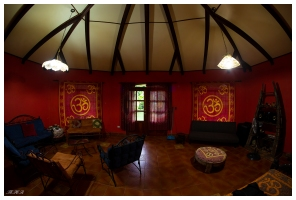 Funky guesthouse, Costa Rica. 5D Mark III | 12mm 2.8 Fish eye.