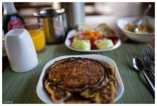 Best breakfast ever. High in the mountains in Costa Rica. 5D Mark III | 35mm 1.4 Art