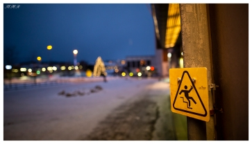 Watch your step. Narvik, Norway. Canon 5D Mark III | 24mm 1.4 Art