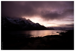 Beautiful skies, Lofoten Norway. Canon 5D Mark III | 24mm 1.4 Art