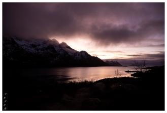 Beautiful skies, Lofoten Norway. Canon 5D Mark III | 24mm 1.4 Art