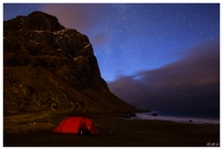 Uttakleiv Beach, Lofoten Norway. Canon 5D Mark III | 24mm 1.4 Art