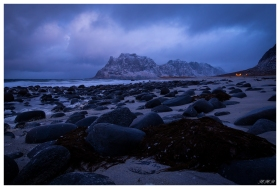 Uttakleiv Beach, Lofoten Norway. Canon 5D Mark III | 24mm 1.4 Art