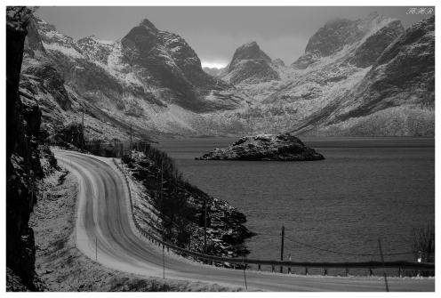 Somewhere in Lofoten Norway. Canon 5D Mark III   135mm 2L