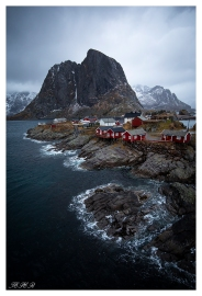 Hamnøy, Lofoten Norway. Canon 5D Mark III | 18mm 2.8 Zeiss Milvus