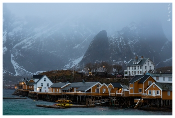 Hamnøy, Lofoten Norway. Canon 5D Mark III | 85mm 1.2L II
