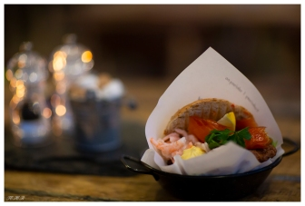 Tasty fish burger, Lofoten Norway. Canon 5D Mark III | 85mm 1.2L II