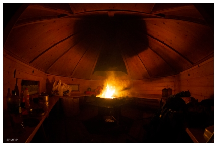 A cosy night at Evenes Norway. Canon 5D Mark III | 12mm 2.8 fisheye