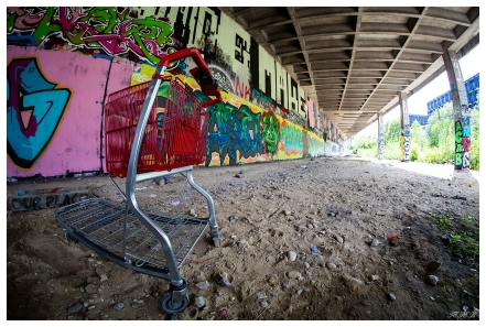 Munich photography event - Abandoned Train Station. 5D Mark III | 12mm 2.8 Fisheye